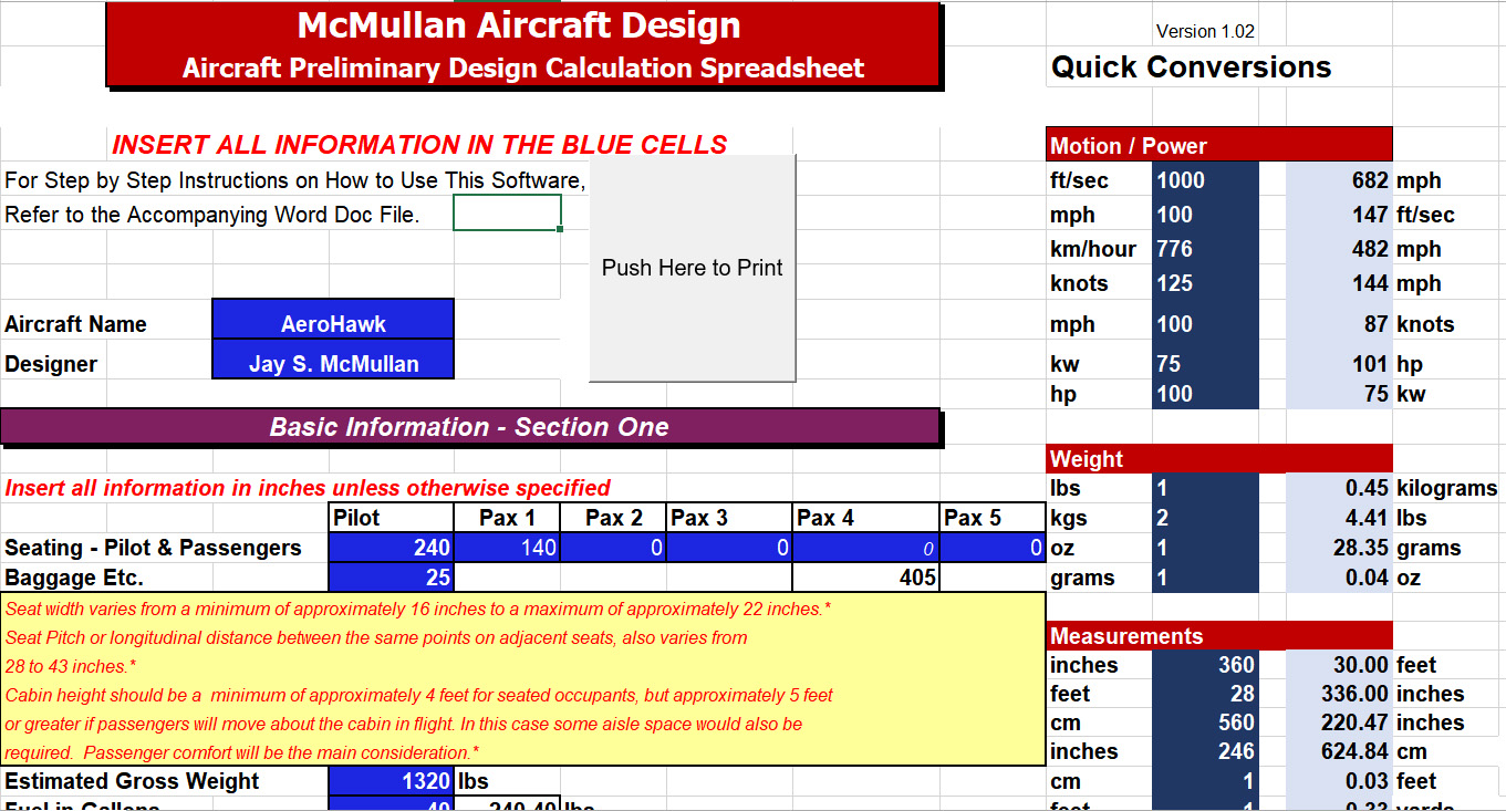 McMullan Aircraft Design